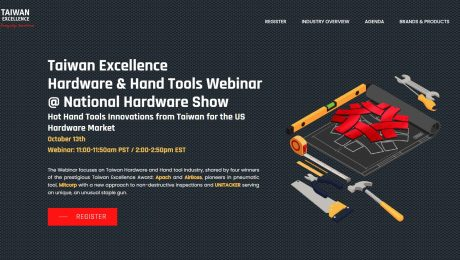Taiwan Excellence_landing page
